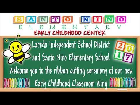 Santo Nino Elementary School Early Childhood Center Dedication