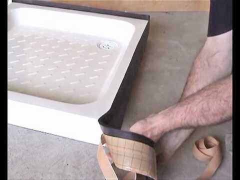 Aqua Strap  Shower Tray Sealing Strip  YouTube