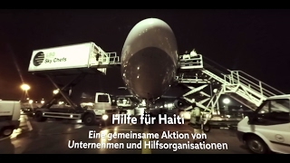 "VR 360 Video: Hilfsflug ""Hilfe für Haiti"""