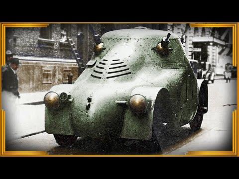 Skoda PA-II «Zelva» - чешский бронеавтомобиль