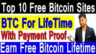Free Bitcoin Earning Sites For Lifetime || With Payment Proof