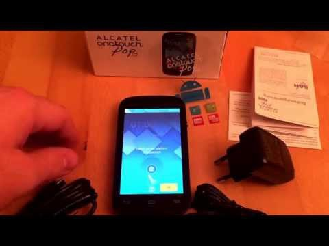 Alcatel One Touch Pop C2 Unboxing And Test