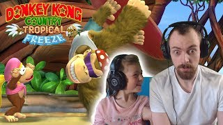 KIMBERLEY & MARCEL IM AFFENSTALL - Donkey Kong Country Tropical Freeze Gameplay Deutsch | EgoWhity