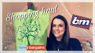 HOME BARGAINS & B&M HAUL | JANUARY 2018
