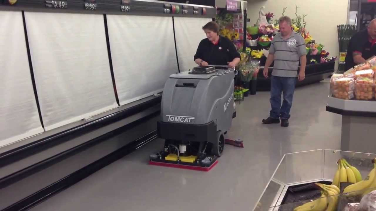 tomcat magnum edge on scrubber duty - youtube