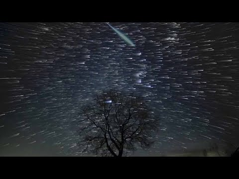 'Magical' Geminid meteor shower captured in Japan