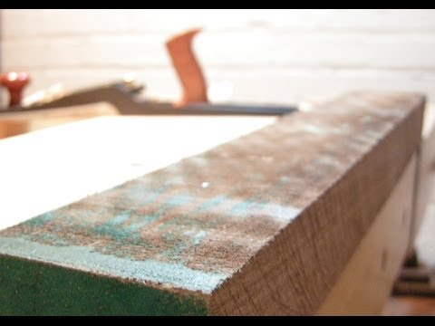 How To Plane Rough Lumber