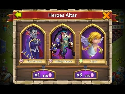 Castle Clash Heros Hack