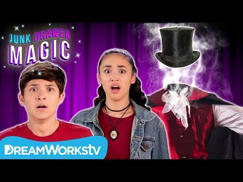 The Headless Magician ATTACKS Akira and Walker! | JUNK DRAWER MAGIC