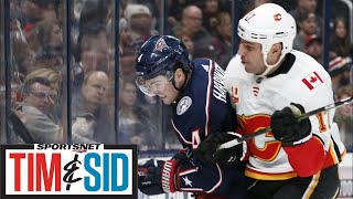Examining A Physical Weekend Of NHL Hockey With Eddie Olczyk | Tim And Sid