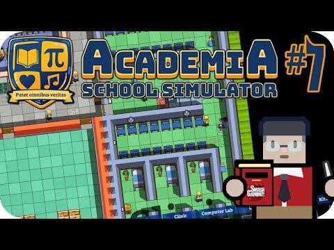 Academia: School Simulator #7 Massive New Medical Clinic
