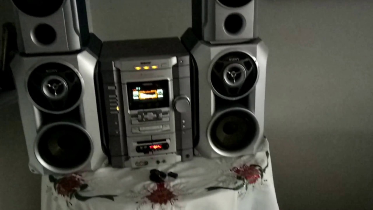 Sony Hifi Mhc-rg88- 630 Rms  7000 Pmpo