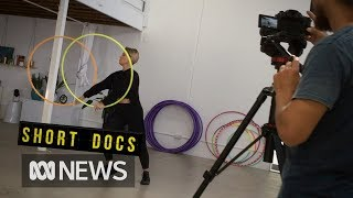 Behind the scenes with a YouTuber: Hooping instructor Deanne Love