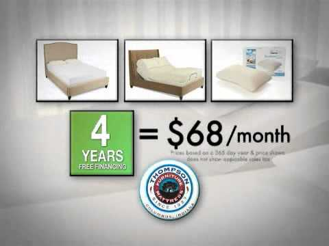 Thompson Furniture & Mattress Tempur Pedic- Columbus, IN