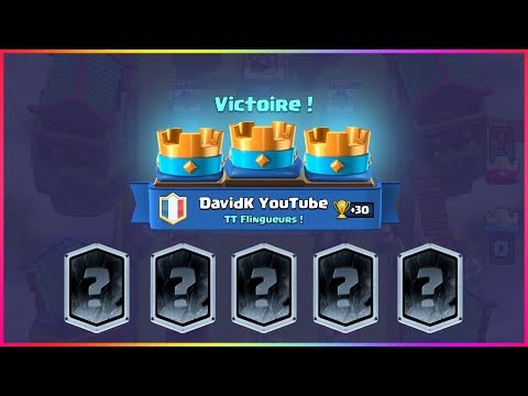 LA VERSION FINALE DE MON MEILLEUR DECK CLASH ROYALE