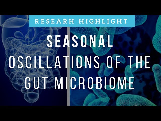 Seasonal Oscillations of the Gut Microbiome | Research Highlight