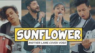 Sunflower Post Malone, Swae Lee - COVER by Antareep, Surya, Rachel, Pritam.mp3