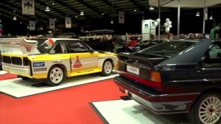Audi at the National Classic Car Show 2016