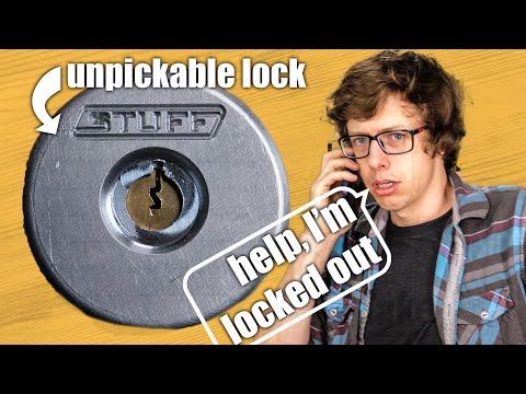Making an unpickable