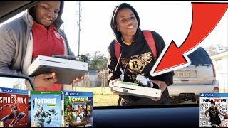 SURPRISING RANDOM KID'S WITH PS4'S AND XBOX ONE'S