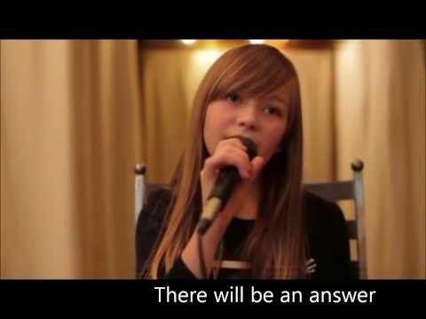 Let It Be - Connie Talbot (karaoke/instrumental)
