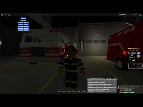 Roblox: Mano County Police Patrol   Puttin' Out the Fires!