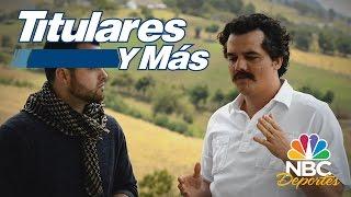 Entrevista a Wagner Moura protagonista de la serie Narcos  Titulares y Ms  NBC Deportes