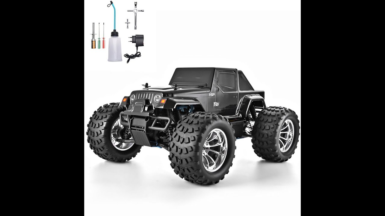 HSP RC Truck 1:10 Scale Nitro Gas Power Hobby Car Two Speed Off Road Truck 9418