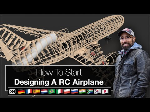 How To Start Designing RC Airplanes in Fusion 360 Tutorial [Episode 1]