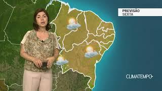 Previsão Nordeste – Ar seco ganha força de novo