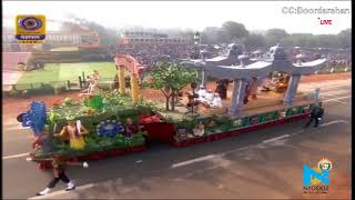 Republic Day 2018: Assam - Traditional Masks Of The Satras Tableau At 69th Republic Day Parade