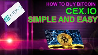 HOW TO BUY AND SELL BITCOIN ON CEX.IO (TOP EXCHANGE)
