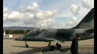 Vol en avion de chasse Albatros L39