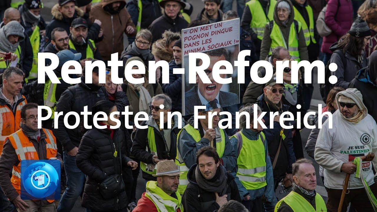 Bildergebnis für youtube videos über proteste in frankreich am 24./25. Januar 2020