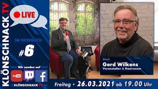 """""""Im Gespräch"""" mit Gerd Wilkens, Veranstalter & Gastronom"""