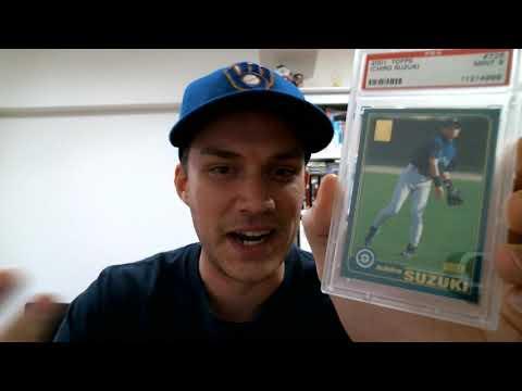 Ichiro Rookie Card Showcase!