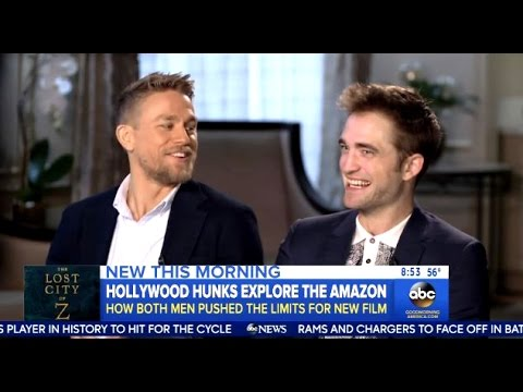 Robert Pattinson - Chats Lost City Of Z