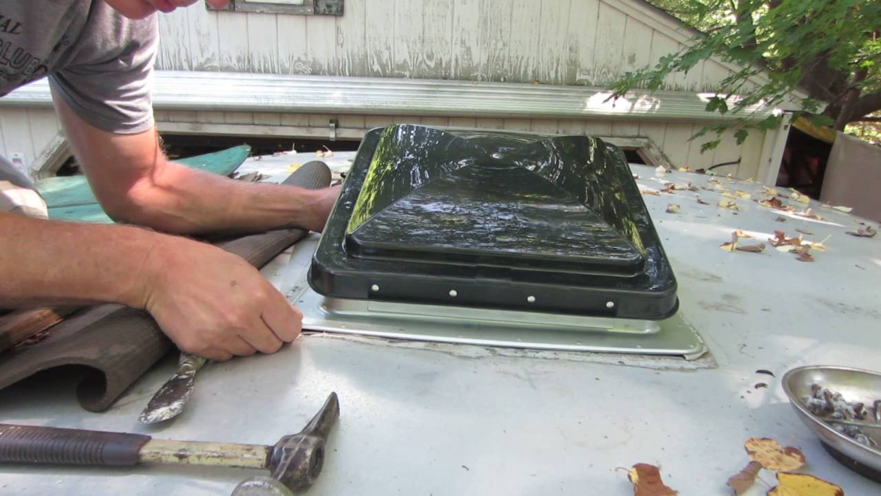trailer skylight replacement