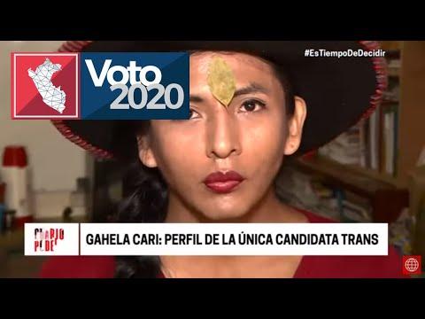 Perú: Mujer transgénero de origen indígena se presenta en elecciones legislativas