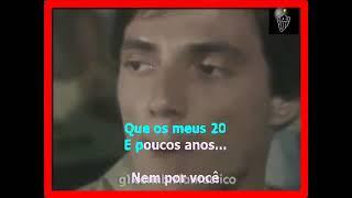 VIDEO KARAOKE FÁBIO JR, 20 E POUCOS ANOS