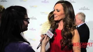 Rachel Boston at the #HallmarkChannel #HallmarkMovie Winter #TCA15 Tour