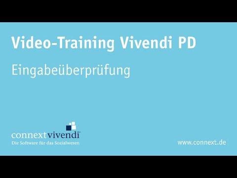 Vivendi PD - Eingabeüberprüfung