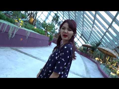 COMEDY TRAVELER - Teh Rina Jalan-Jalan Di Garden By The Bay (4/2/18) Part 1