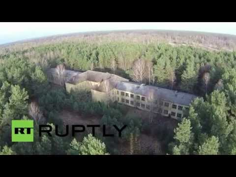 Germany: Drone finds ghost Soviet military base still standing after 20 years!