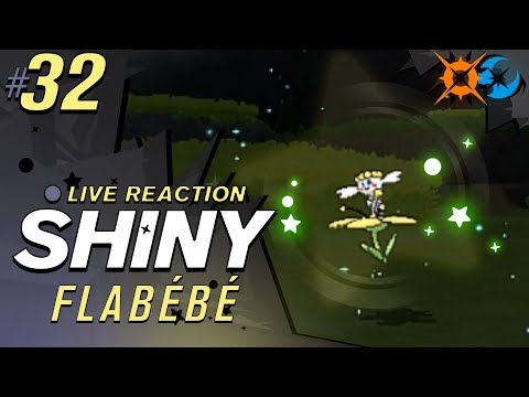 IS THAT SHINY? SHINY FLABEBE! | Pokemon Ultra Sun and Moon Shiny Reaction #32 | CrimsonCBAD