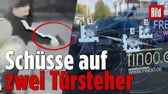 Schießerei vor Disko in Bad Oeynhausen – Zwei Türsteher verletzt