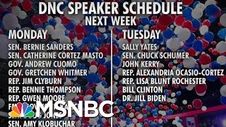 Download Lagu DNC Announces Speakers For Upcoming Convention | Morning Joe | MSNBC mp3