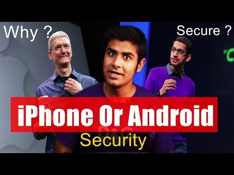Android Vs IPhone | Why IPhone Is More Secure ? | Dark Secret Of Updates