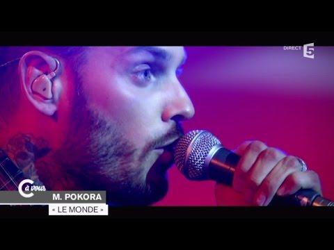 """Matt Pokora """"Le monde"""" - C à vous - 04/02/2015"""