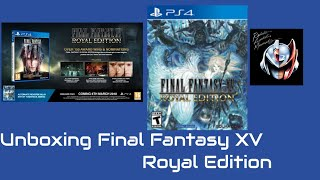 Unboxing Final Fantasy XV Royal Edition de PS4